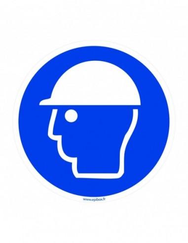 Pictogram Helmet Ø120