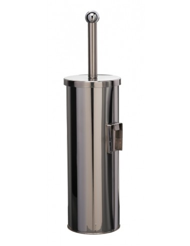 Stainless steel toilet brush holder...