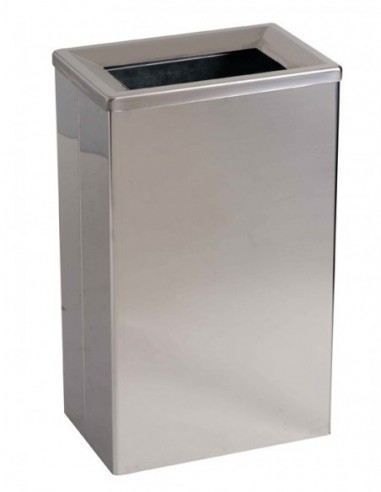 Waste bin, wall mounting or on stand